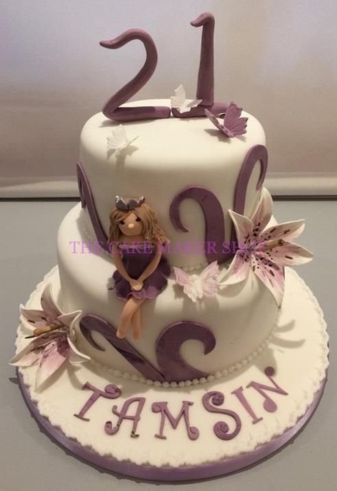 Birthday Cake Images Maker : B657 THE CAKE MAKER SHOP